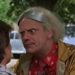 doc Emmet Brown Retour vers le Futur 2