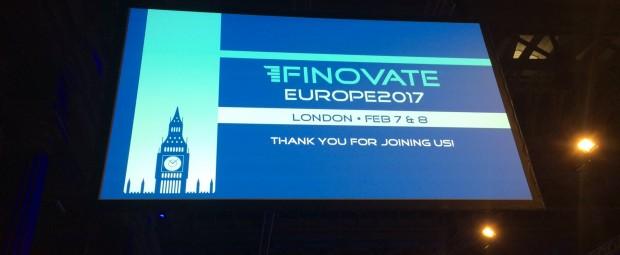 Conférence Finovate 2017